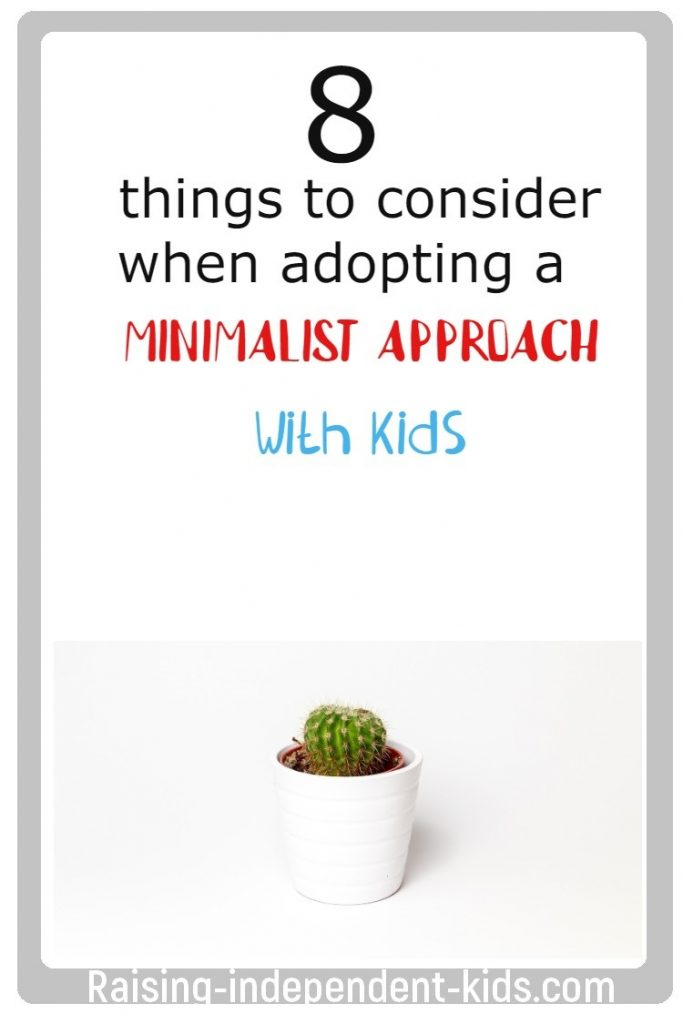 8 things to consider when adopting a minimalist approach with kids