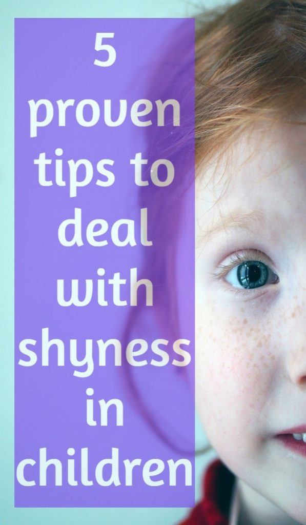 5 proven tips to deal with shyness in children