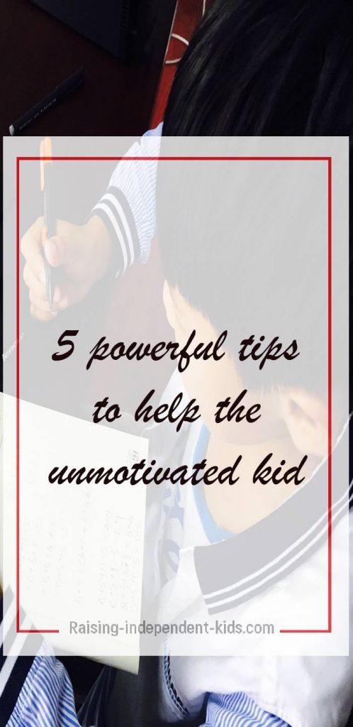 Keys to Kids' Motivation