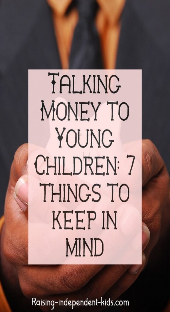 Talking Money to Young Children: 7 things to keep in mind