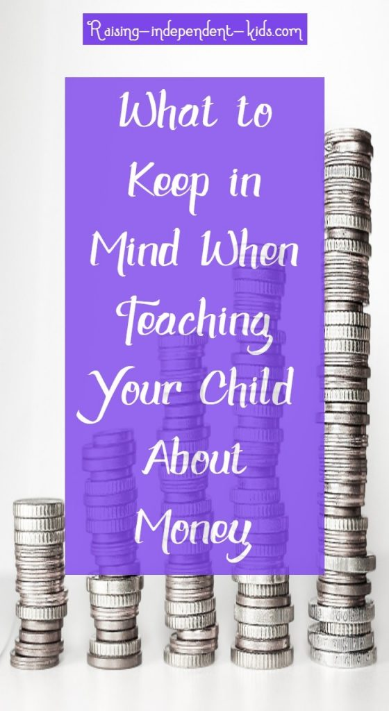 What to Keep in Mind When Teaching Your Child About Money