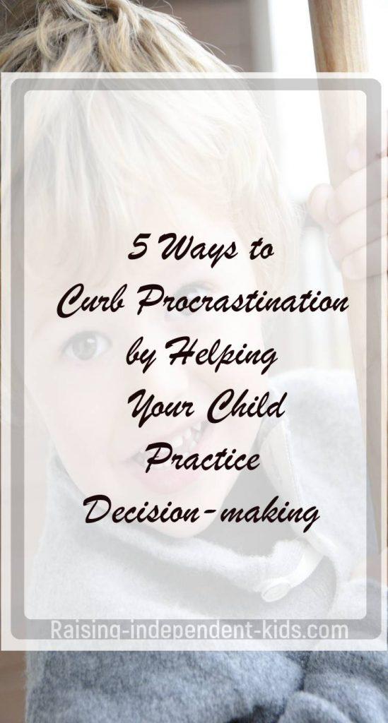 Stop Procrastination in Children