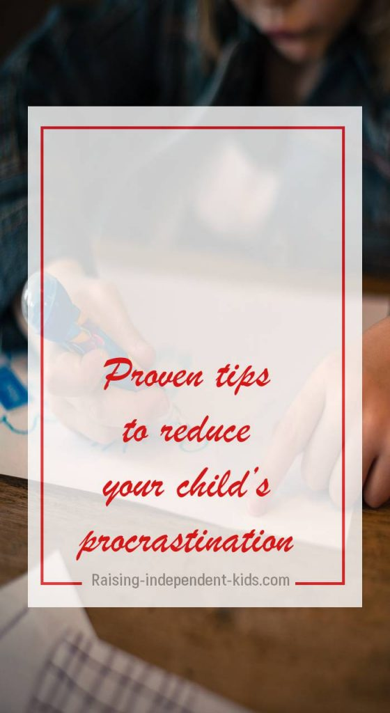 What You Should Know About Kids and Procrastination