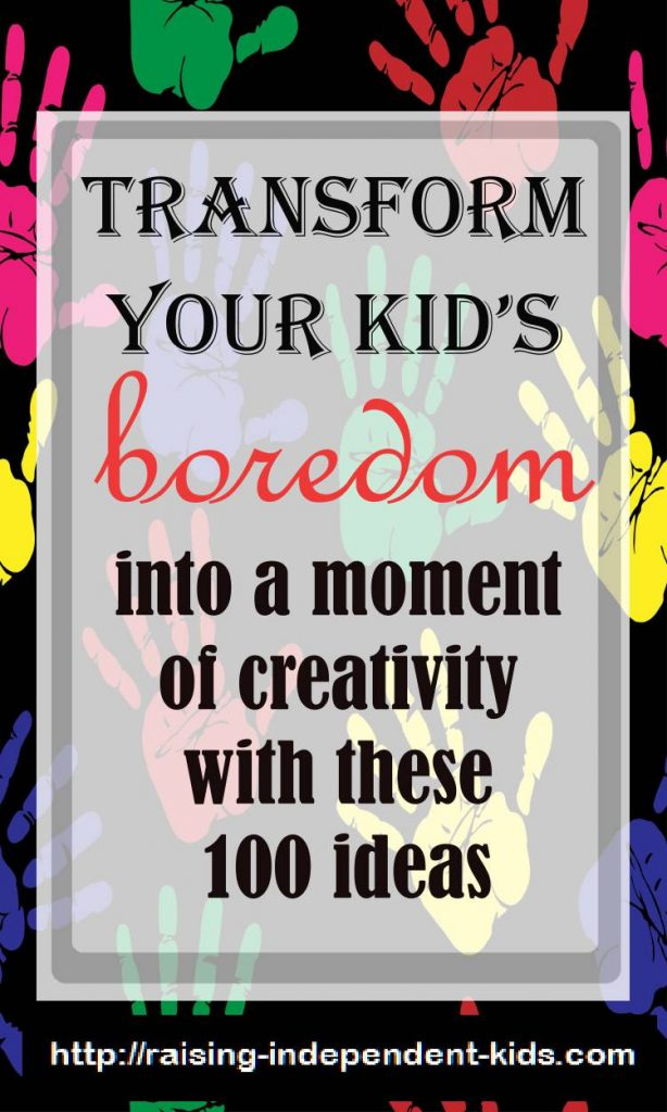 100 great activities to keep your kids busy