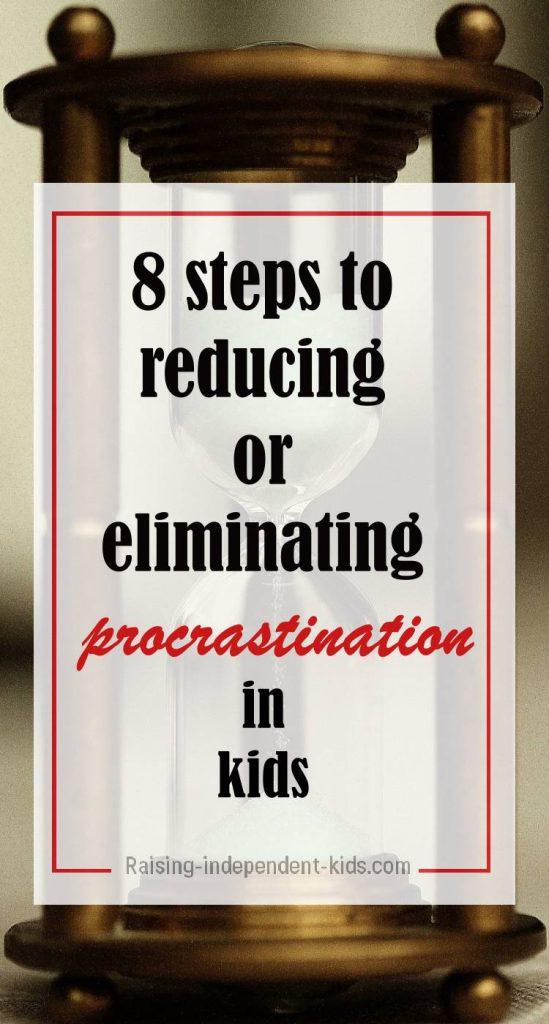 reducing kids procrastination