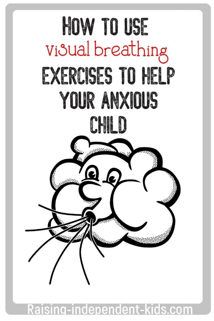 How to use visual breathing exercises to help your anxious child