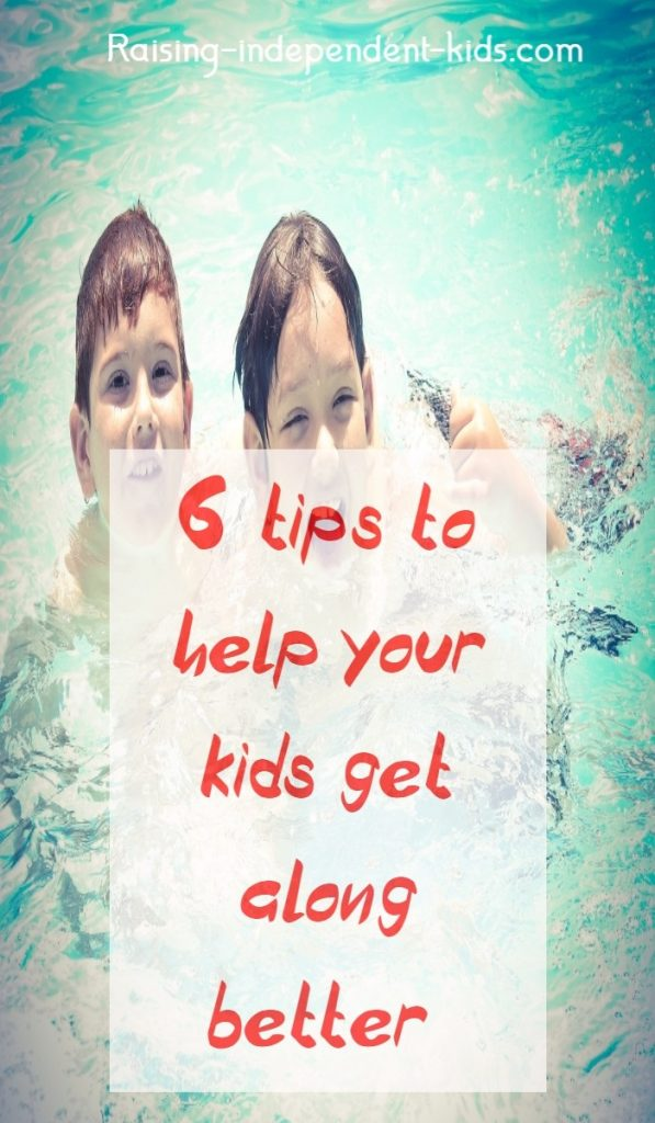 6 tips to help your kids get along better