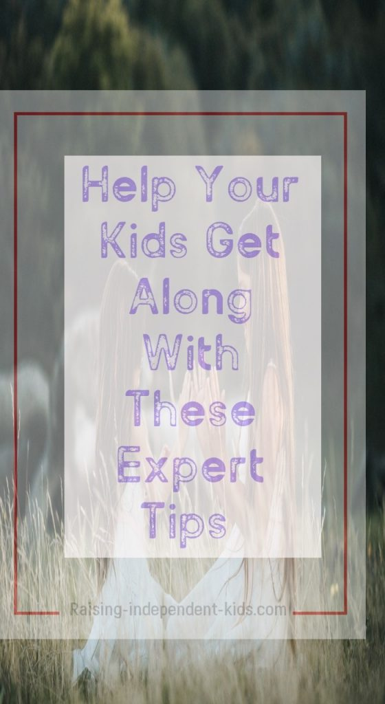 Help Your Kids Get Along With These Expert Tips