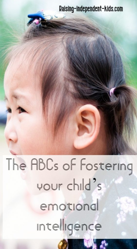 The ABCs of fostering your child's emotional intelligence