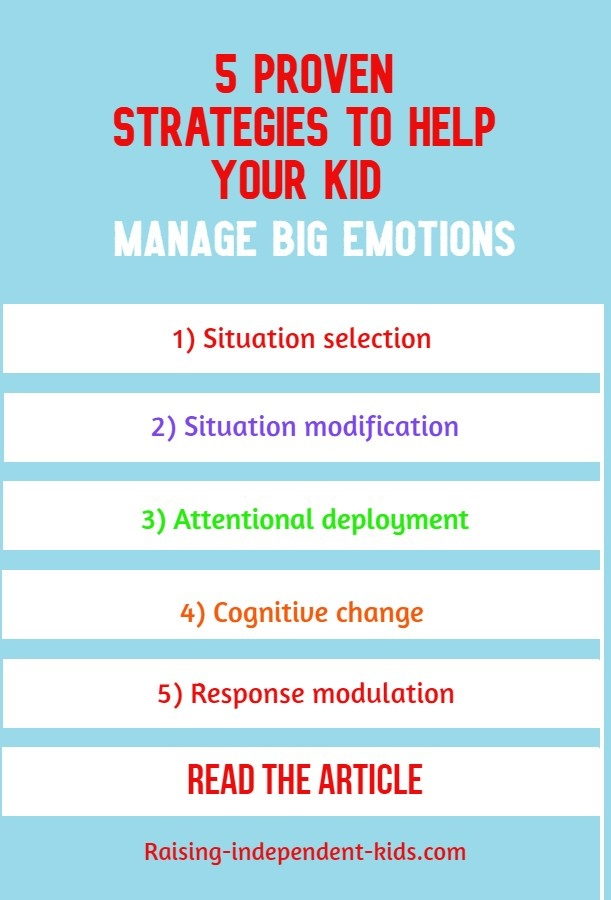 5 Positive ways to help your kid manage big emotions