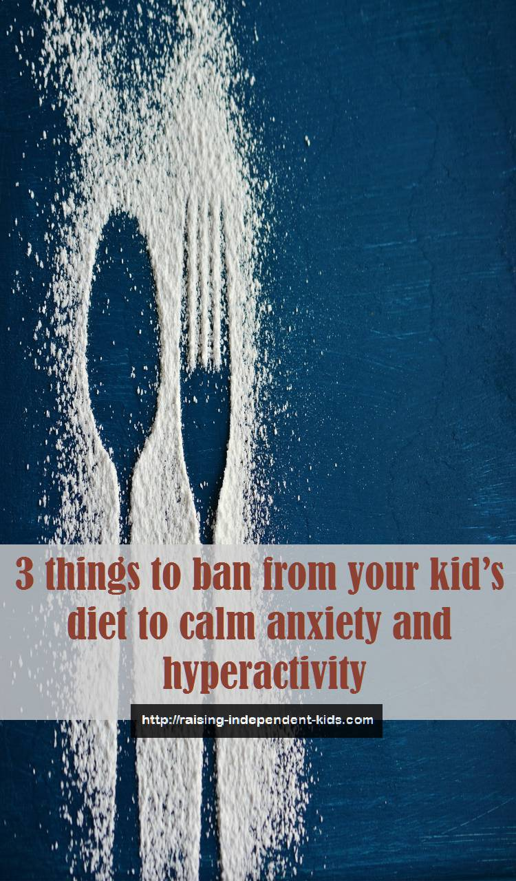 things causing kids lack of attentiveness, anxiety and stress