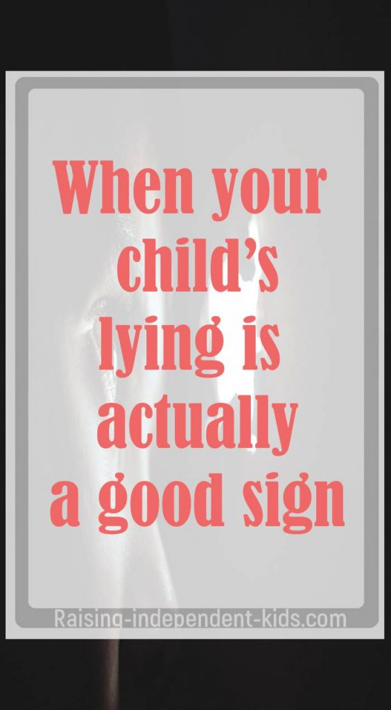 how do i stop my kid from lying