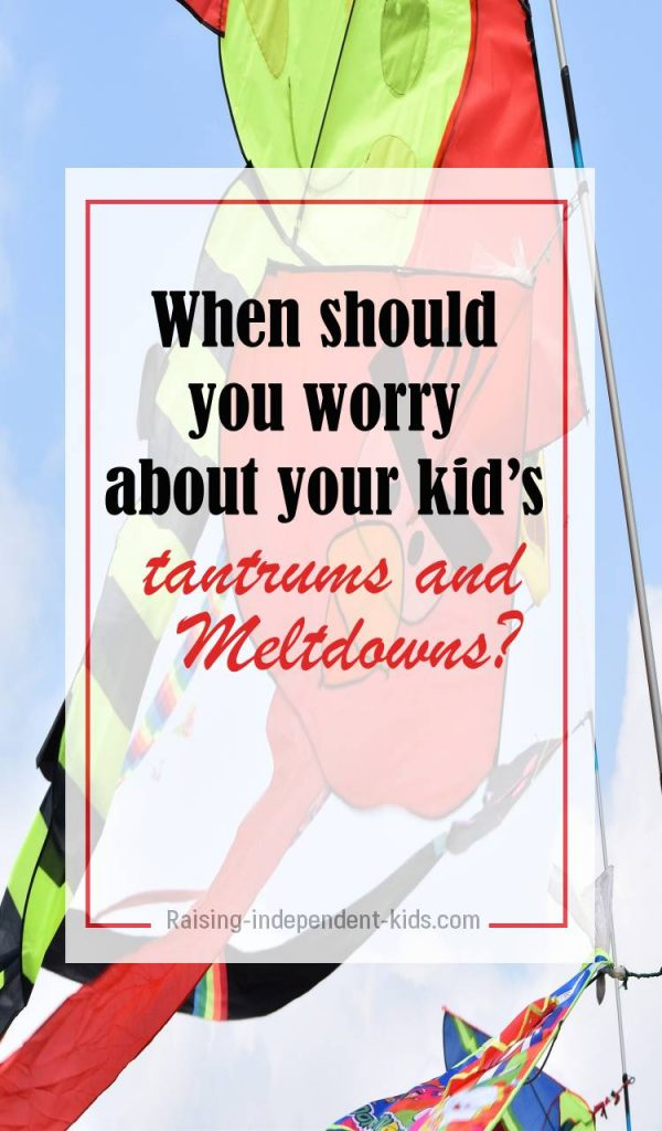 problem behavior with kid