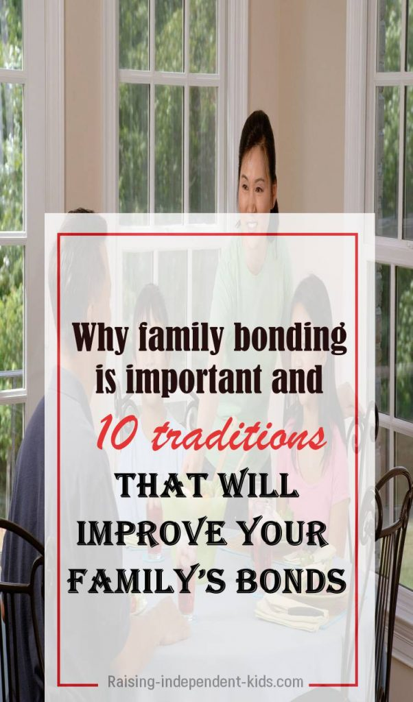 practical tips to help your family bond