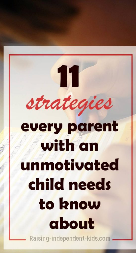 motivating a child