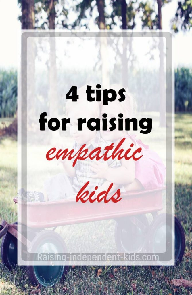 Tips for raising empathic kids