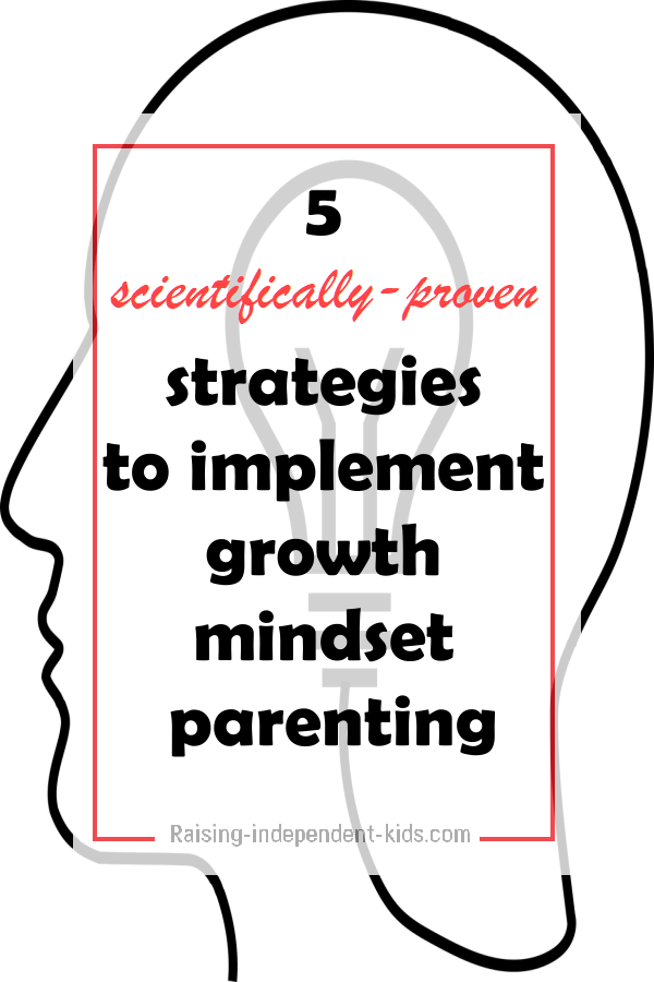 scientifically-proven strategies to implement growty mindset parenting