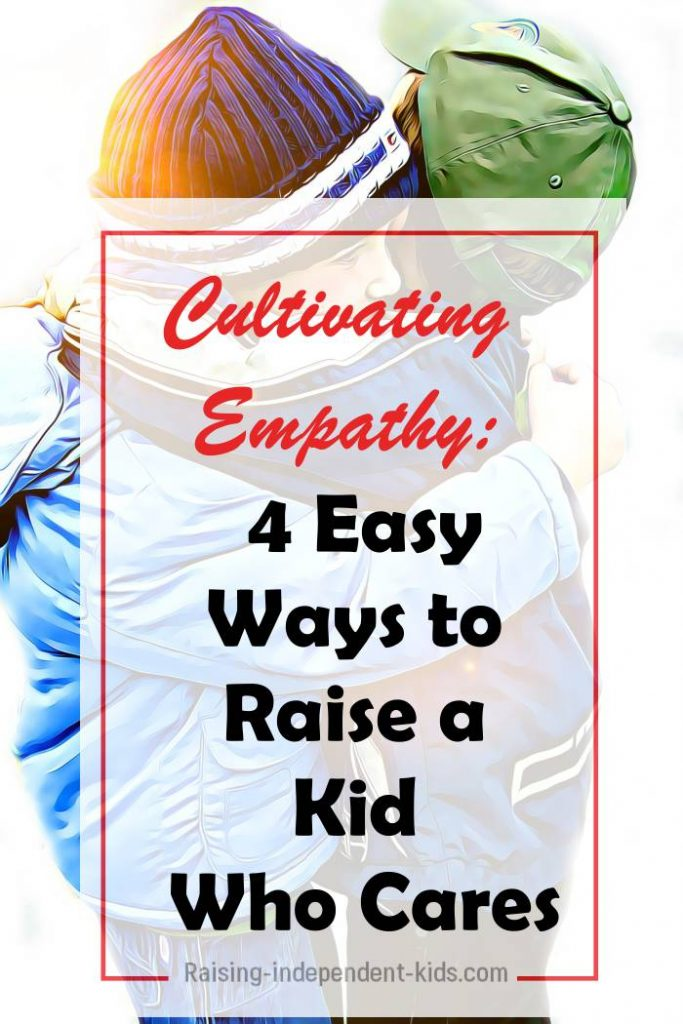 4 easy ways to raise a kid who cares