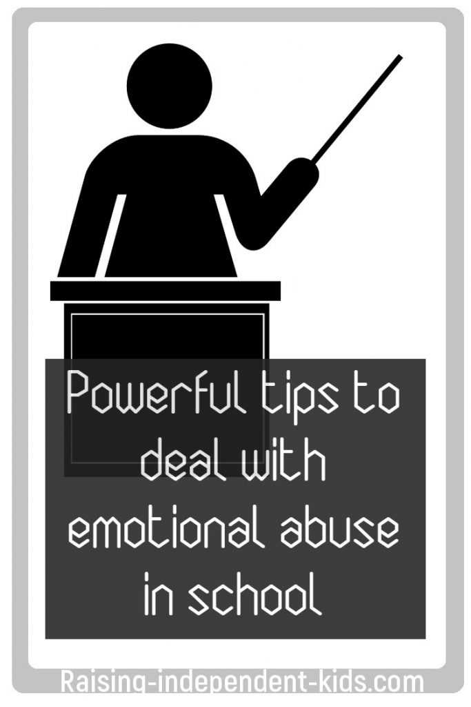 Powerful tips to deal with emotional abuse in school