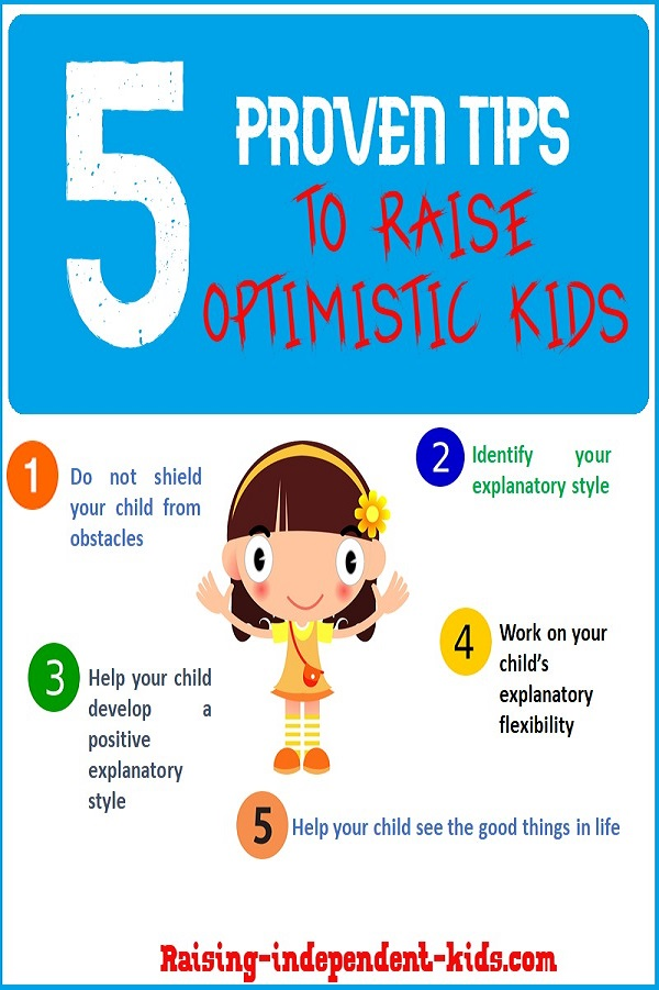 5 proven tips to raise optimistic kids