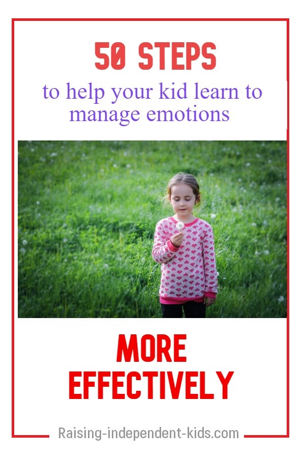 Methods of developping your child's emotional regulation skills