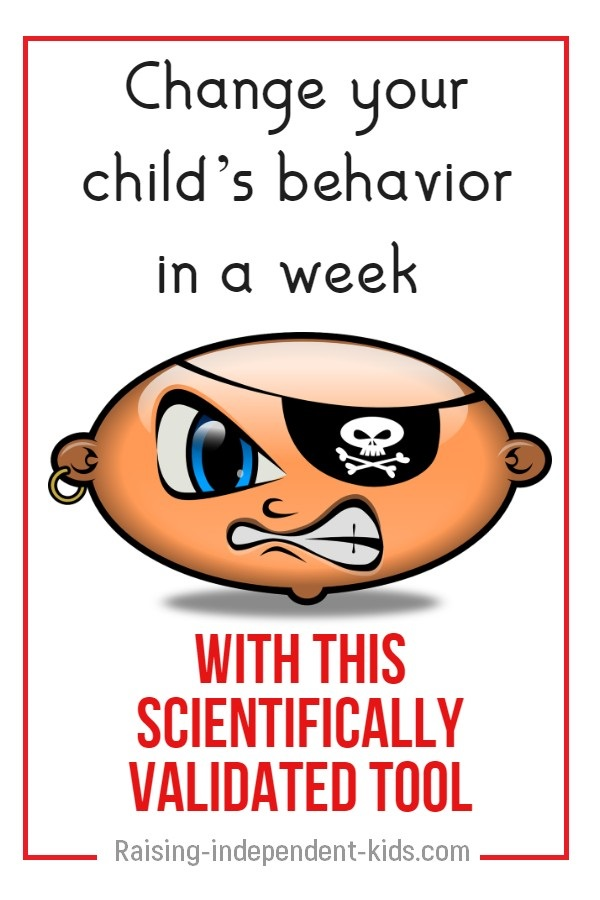 Secret for Improving Your Child's Behavior