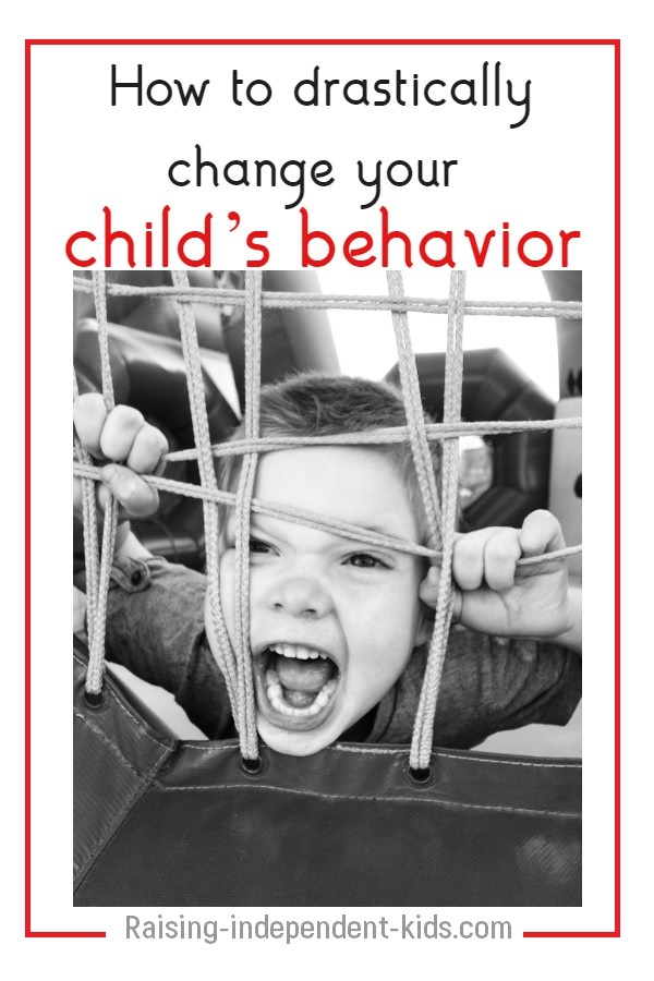 Improve your child's behavior