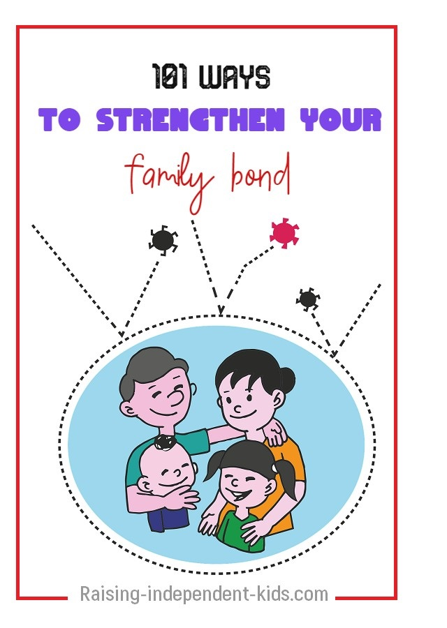Ideas to strengthen your family ties