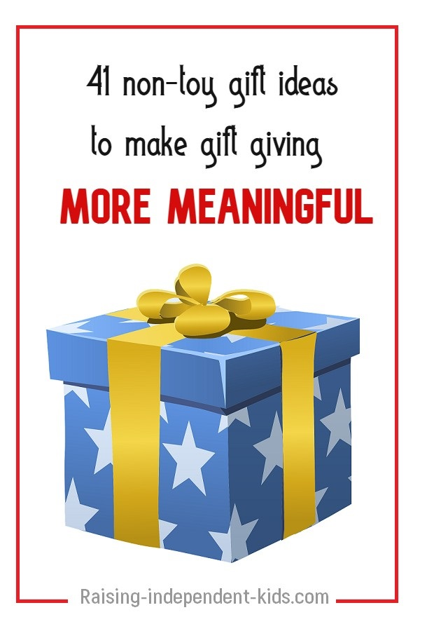 How to make gift-giving for kids more meaningful