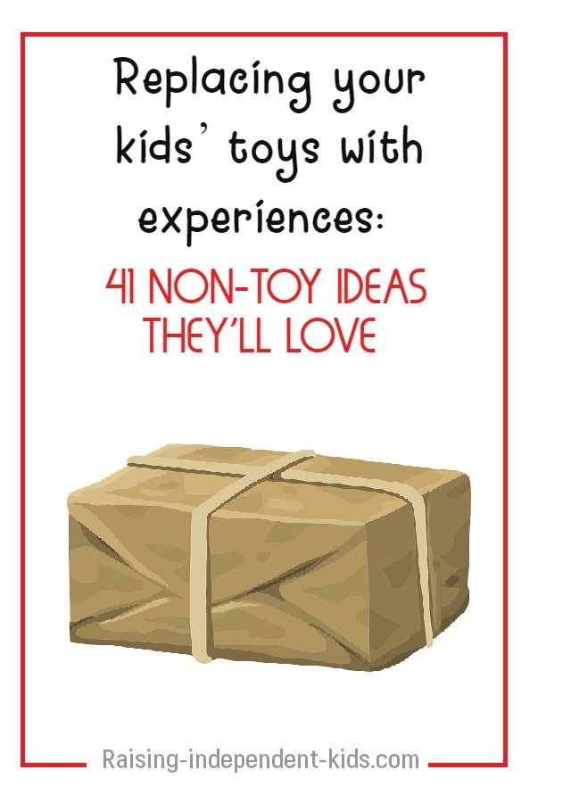 What toys give experiences to kids