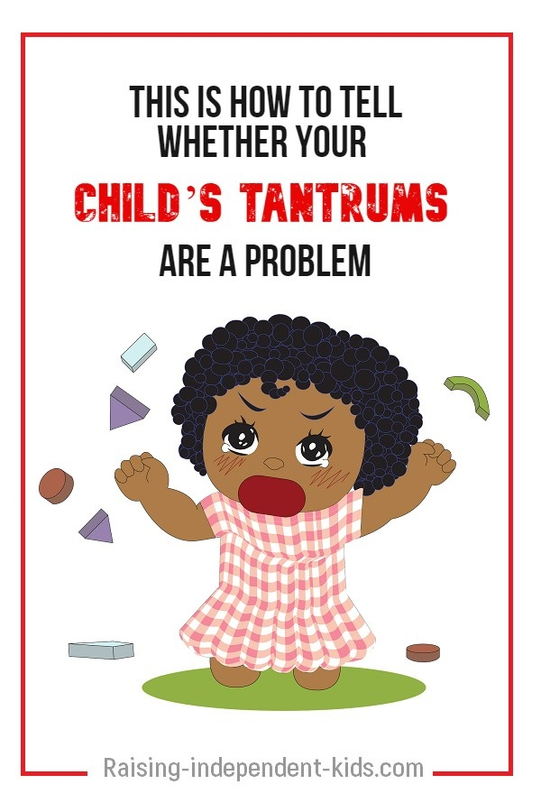 How to tell whether your child's tantrums are normal