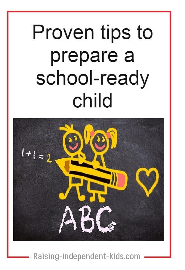 Being school ready