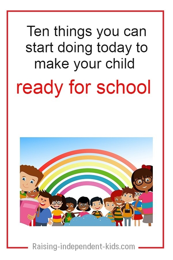 school readiness for kids