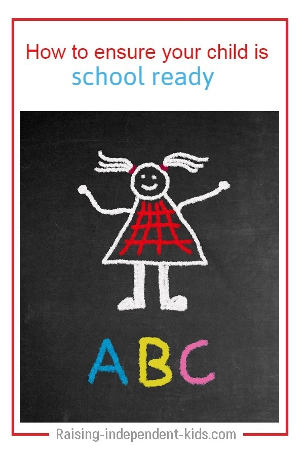 Is your child ready for school