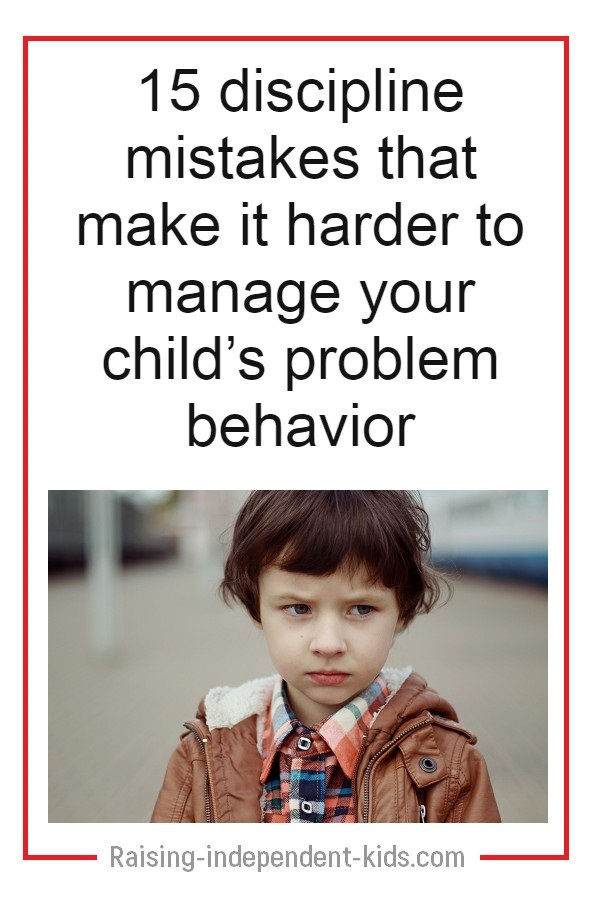 how to discipline your child effectively