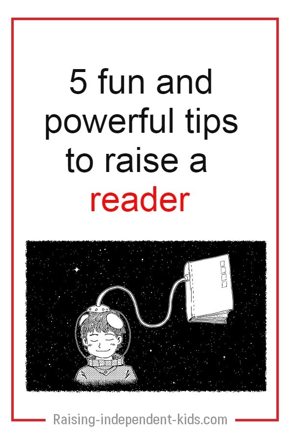 Encourage your kids to be readers