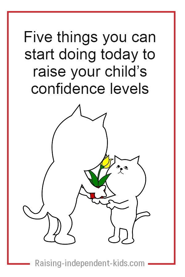 How to help your child gain confidence