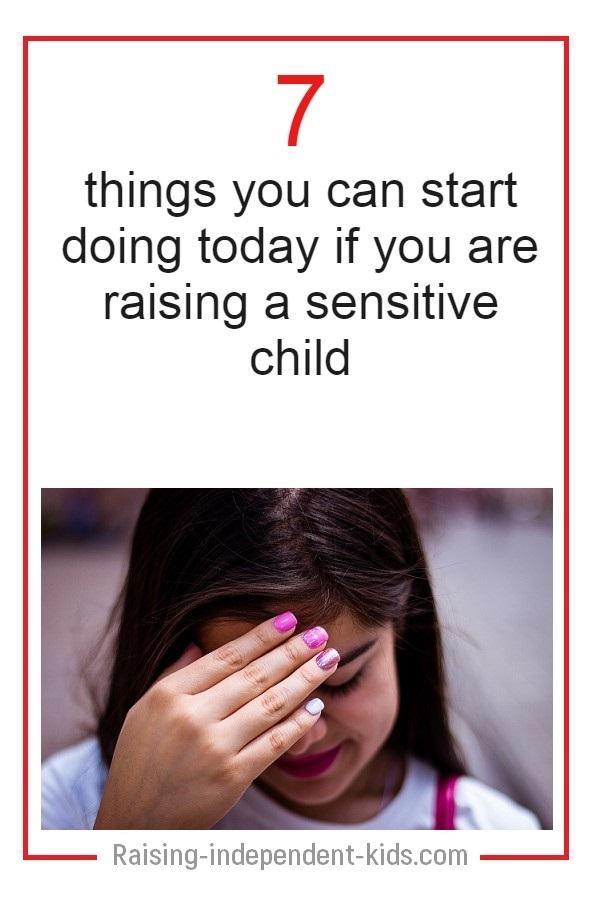 My child is sensitive