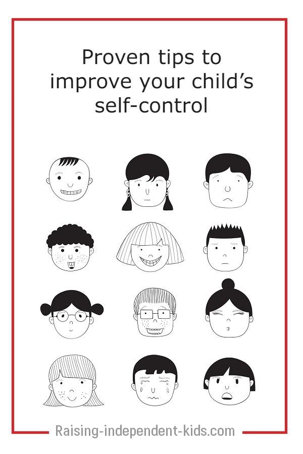 improve self-control in children