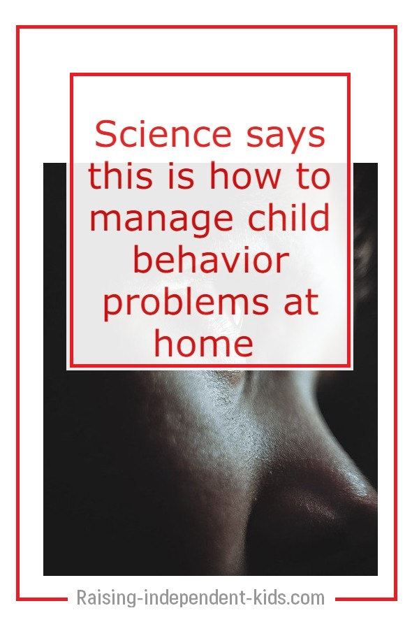 Dealing with children's problem behavior
