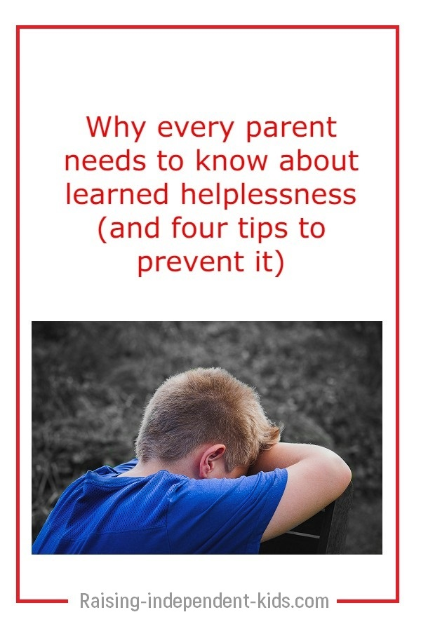helping your child with learned helplessness