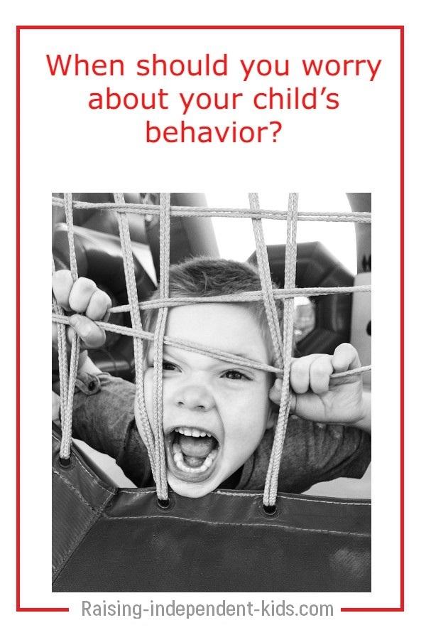 Dealing with problem behavior in children