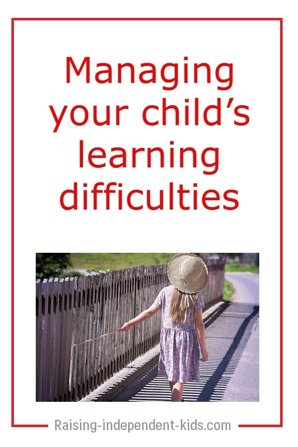 How to help a child with learning difficulties