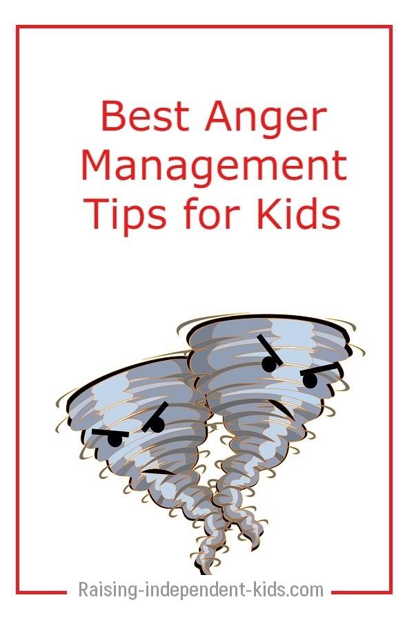 Child needs help managing anger